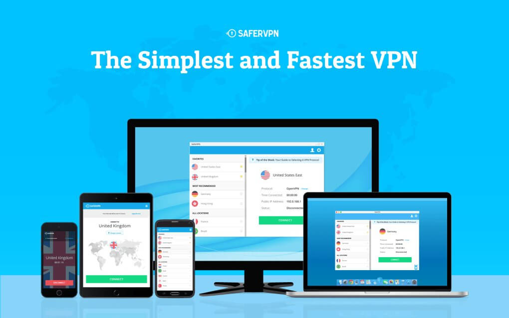 SaferVPN Extension for Google Chrome